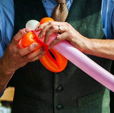 Anniversaire clown sculpteur de ballons