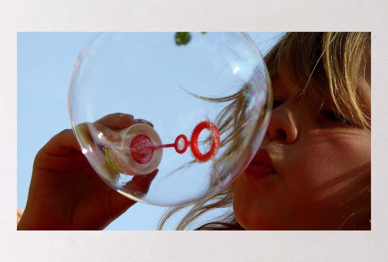 Animation grandes bulles de savon