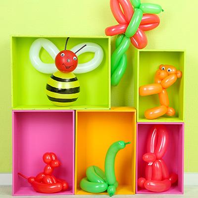 Atelier sculpteur de ballons en déambulation pour enfants et ateliers pour vos festivités en Hautes Pyrénées (65), Gers (32), Landes (40) et Pyrénées-Atlantiques (64)