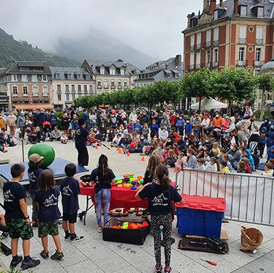 Cauterets Ecole de Cirque dans les Hautes Pyrénées
